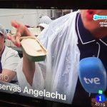 'España Directo' visita Conservas Angelachu en la costera del bonito